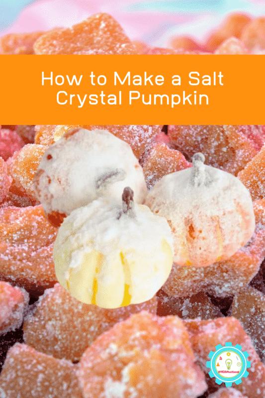 how to make salt crystals