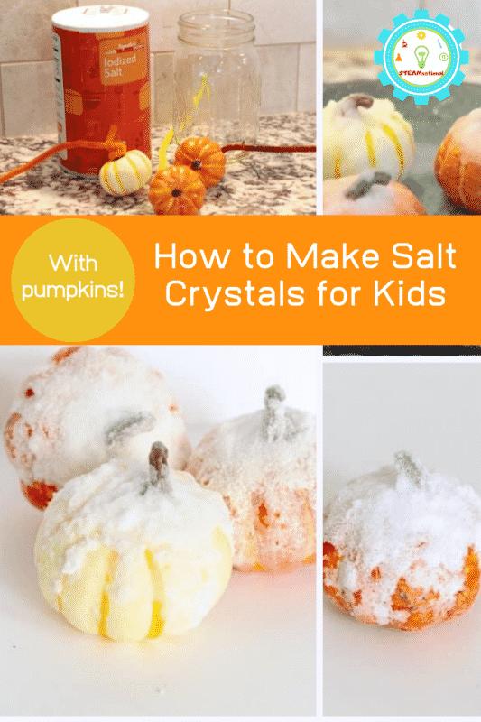 how to make salt crystals for kids