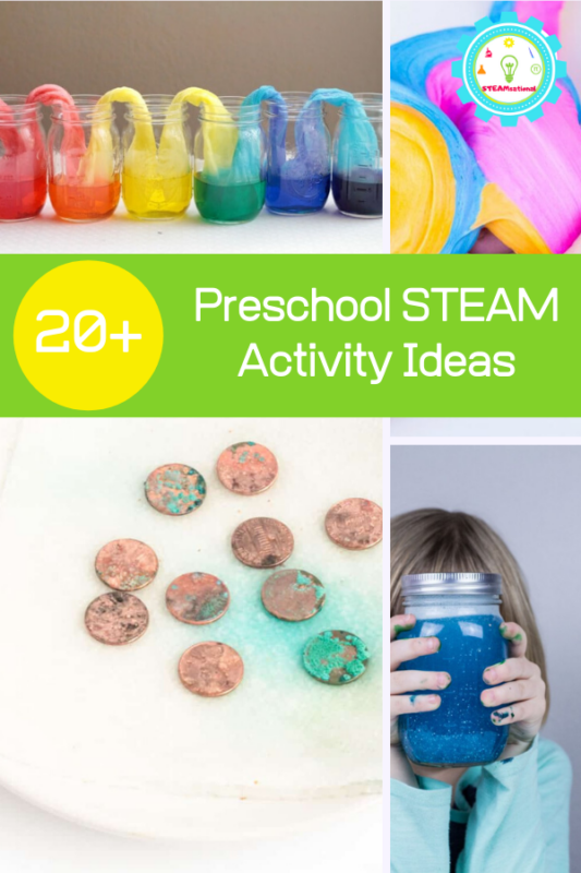 Preschoolers can learn with preschool STEM activities! STEM activities for preschoolers are the ultimate STEM experience!