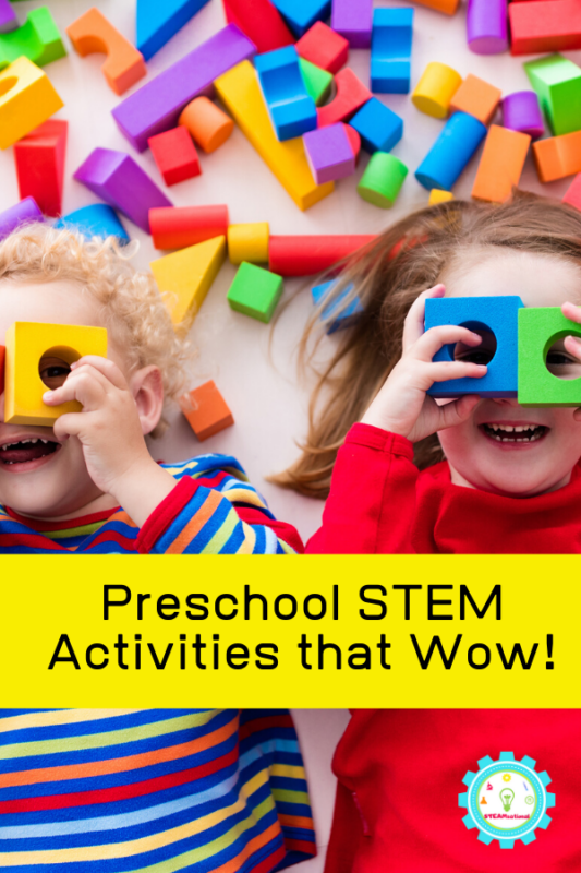preschool stem challenges