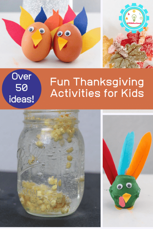 Kids will love these Thanksgiving activities for kids that are perfect Thanksgiving activities for the classroom!