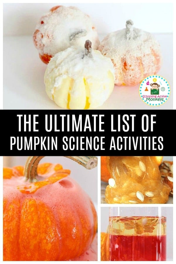 Pumpkin science is the best science! Take your fall STEM activities to the next level with these amazing pumpkin activities for kids with a science focus. #stemed #stemactivities #scienceexperiments #scienceforkids #fallactivities