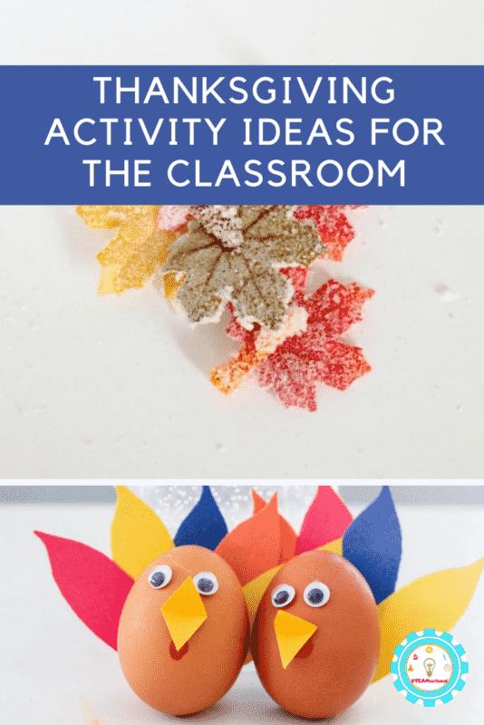 thanksgiving activity ideas