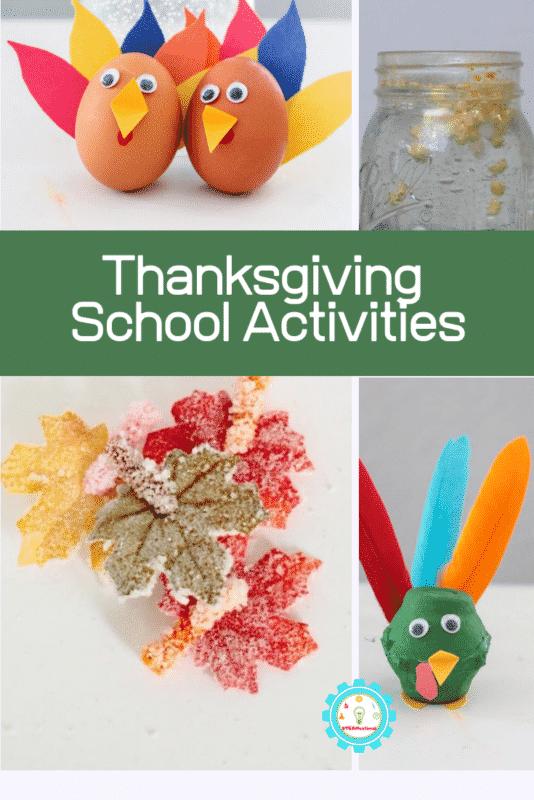 thanksgiving school activities