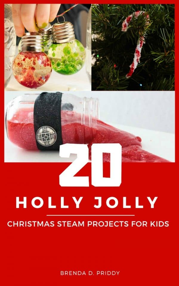 Love STEAM activities? Love Christmas? You'll love this christmas STEAM project book filled with 20 Holly Jolly STEAM projects! #steam #stemed #stemactivities #chrsitams #christmasactivities
