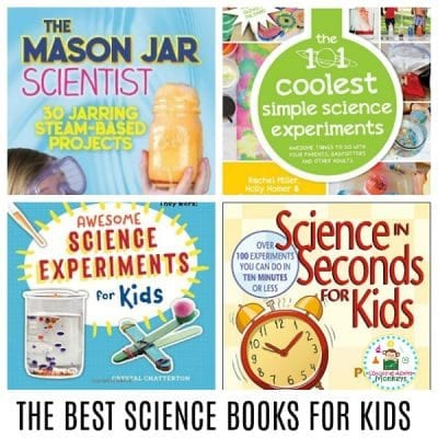 THE 10 BEST SCIENCE BOOKS FOR KIDS