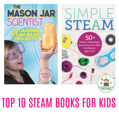 THE BEST 10 STEAM BOOKS FOR ELEMENTARY KIDS