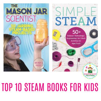 THE Best 11 STEAM Books for Elementary Kids