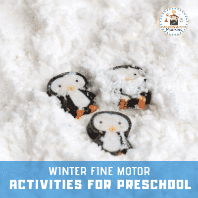 Winter Fine Motor Activities for Kids