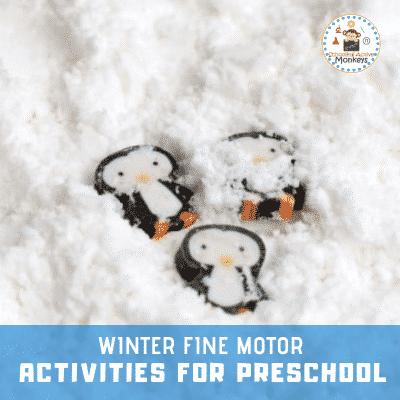 Winter Fine Motor Activities for Kids