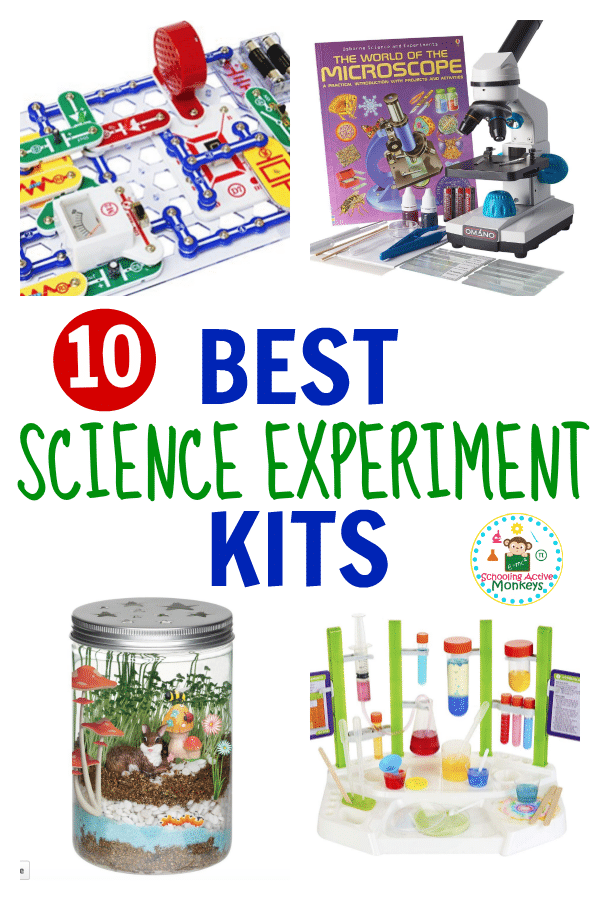 Kid scientists will have a blast with these science experiment kits! These science kits have everything a kid needs to complete science experiments perfect for elementary kids. Science kits for kids are the perfect gift for any time of year and can help keep boredom away any time of year! #scienceexperiments #science #kidsactivities #handsonlearning