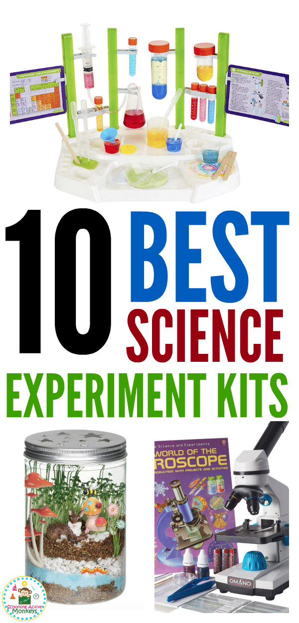 If you know any science lover in elementary school, you can't go wrong getting them one of the science kits on this list! The best science kits for kids make perfect gifts for Christmas, birthdays, and more! #scienceexperiments #science #kidsactivities #handsonlearning #giftideas
