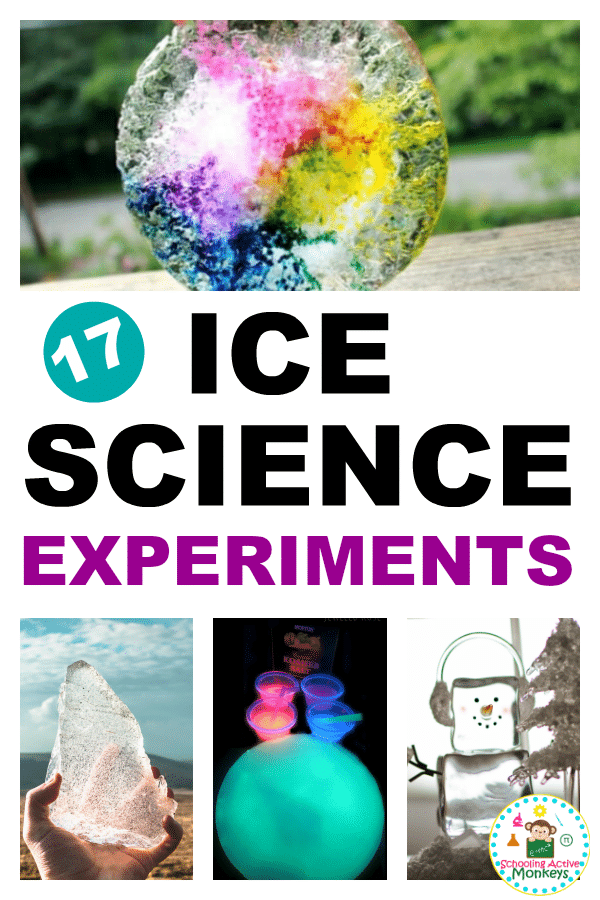 Ice science experiments are the ultimate winter learning activity for STEM lovers! These ice experiments explore the basics of ice science and concepts like states of matter, how frost forms, how salt reacts with ice, and a whole lot more! #winteractivities #scienceexperiments #scienceclass #stemed #stemactivities