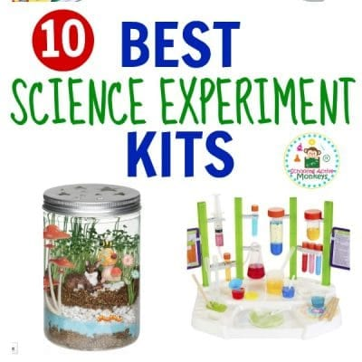 The 10 BEST SCIENCE EXPERIMENT KITS FOR ELEMENTARY KIDS