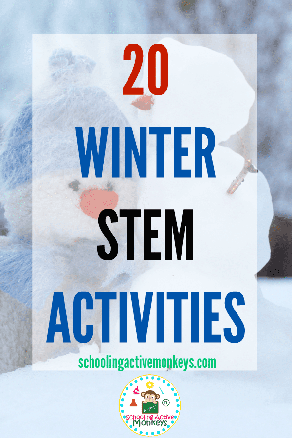 Winter STEAM activities are the perfect winter activities for kids. Kids will love learning winter science, technology, engineering, art, and math activities that expand the brain and creativity. #winteractivities #stemactivities #scienceexperiment #kidsactivities