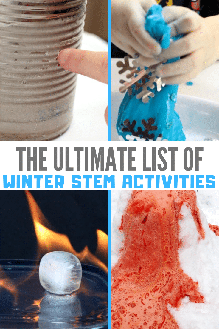Hands On Winter Stem Activities For Elementary Kids