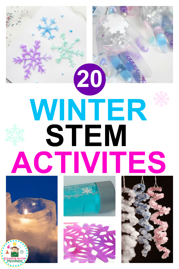 When it comes to winter STEM, and winter STEAM activities for kids, this is the ultimate list of winter STEM activities for elementary kids! #winteractivities #stemactivities #scienceexperiment #kidsactivities