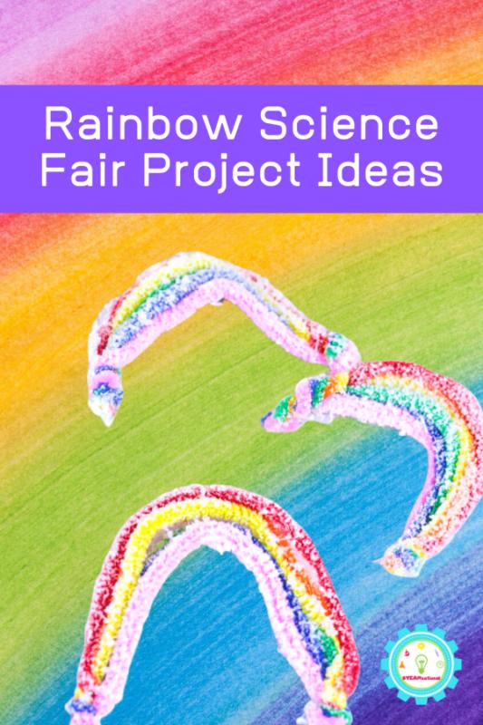 rainbow science activities