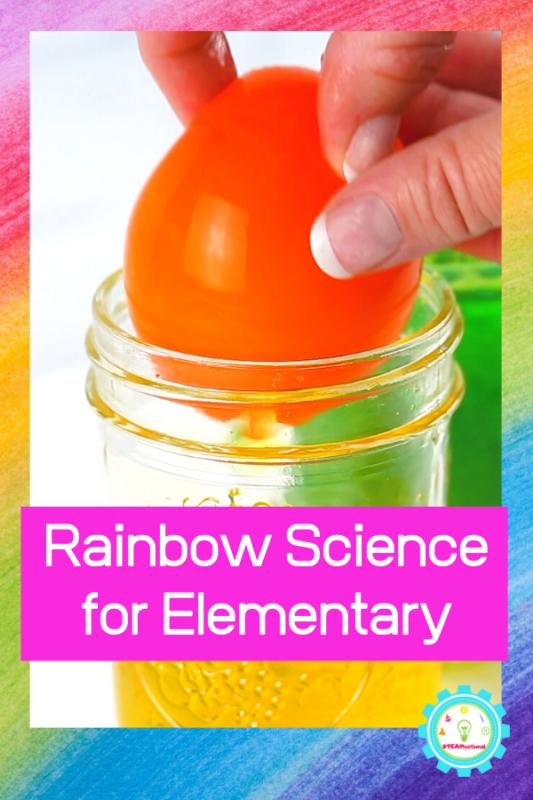 rainbow science fair projects