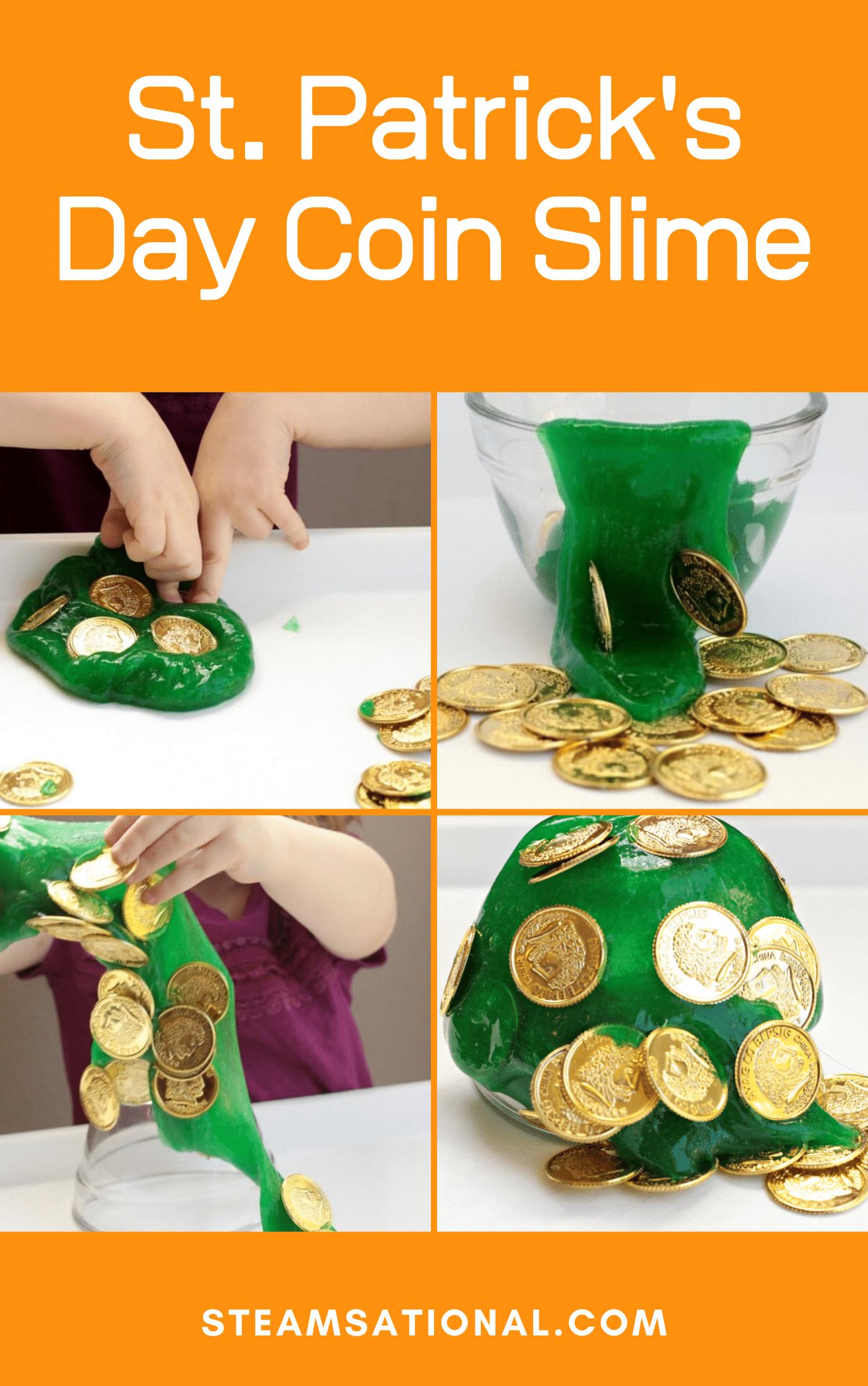 st patricks day coin slime