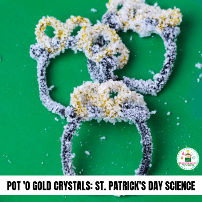HOW TO GROW CRYSTALS WITH SALT: ST. PATRICK'S DAY SCIENCE