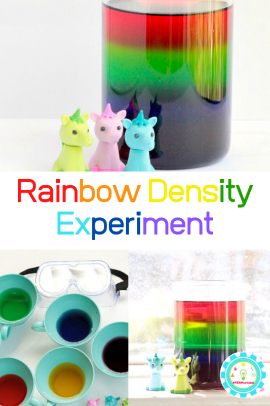 sugar water rainbow