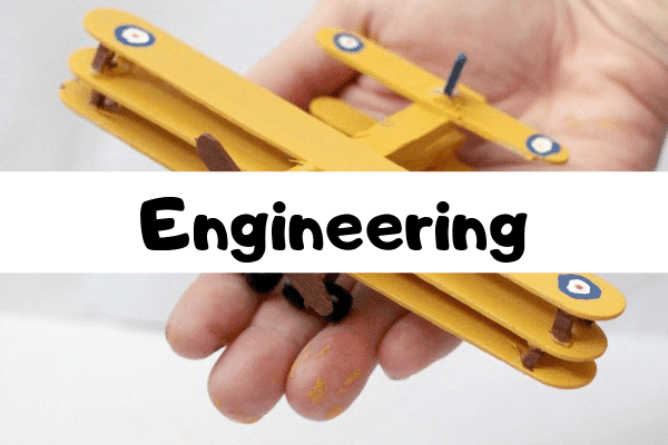 The ultimate list of engineering STEM activities for kids.