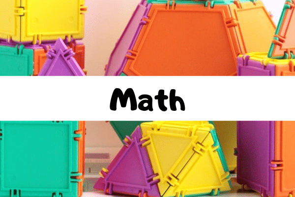 The ultimate list of math STEM activities for kids.