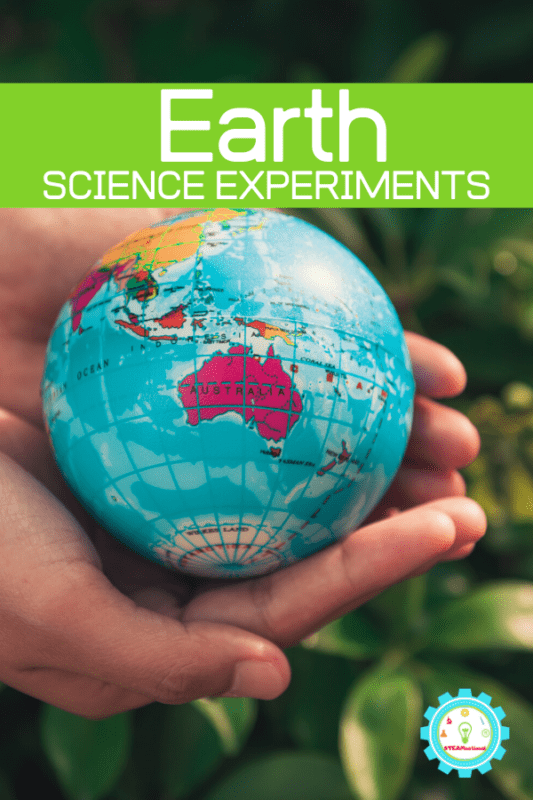 earth science experiments for elementary