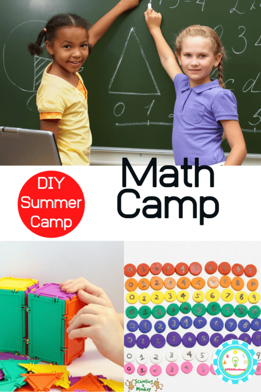 math camp for elementary students