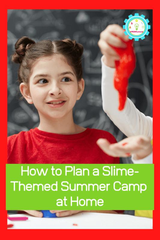 slime making summer camp