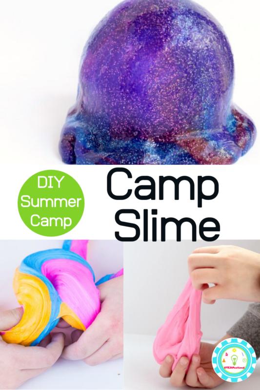 summer camp slime