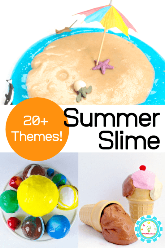 summer slime themes