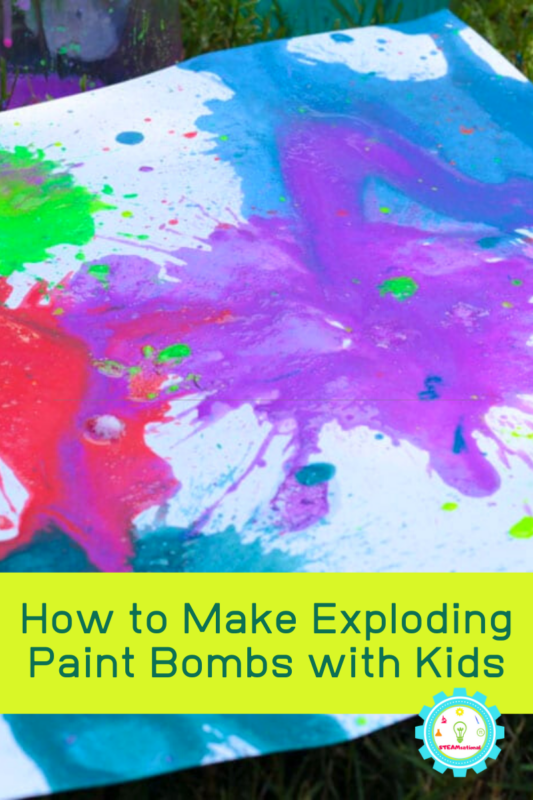 How to Make Exploding Paint Bombs