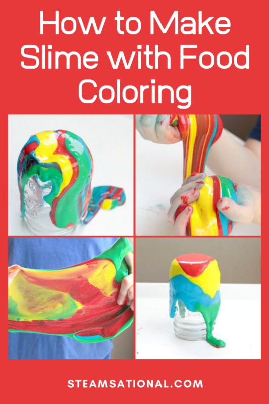 How to Make Slime with Food Coloring