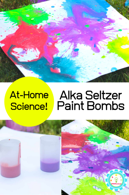 Make exploding paint rockets in this super fun summer STEM activity for kids! Make your summer activities filled with color with exploding paint bombs!