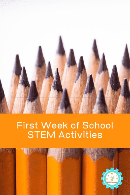 first week of school stem activities