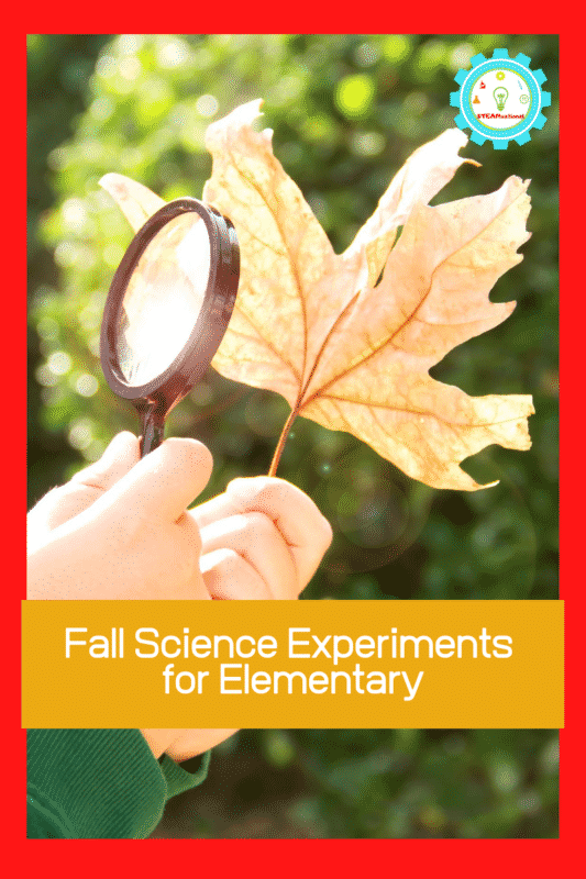 fall science experiments for elementary