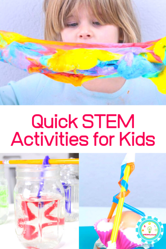 easy stem activities