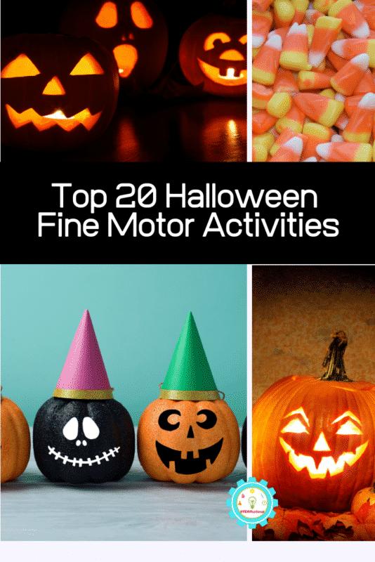 halloween fine motor activities
