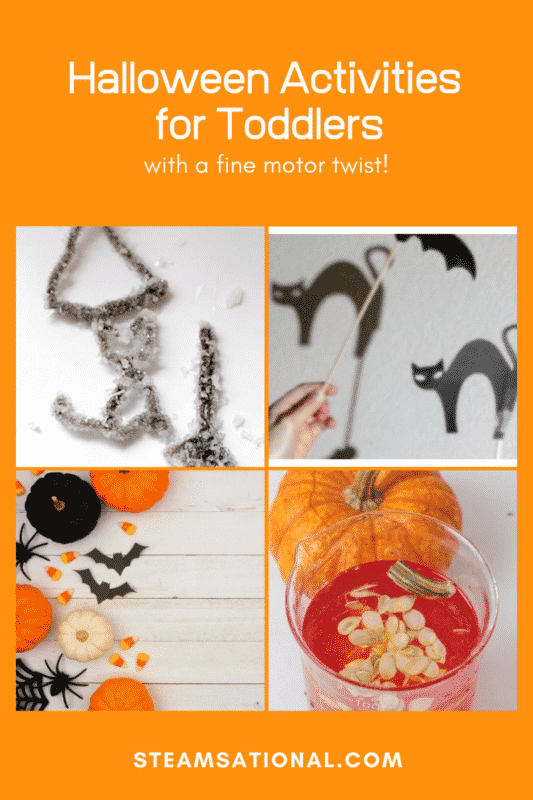 halloween fine motor activities for toddlers