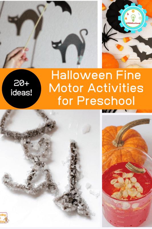 halloween fine motor skills preschool