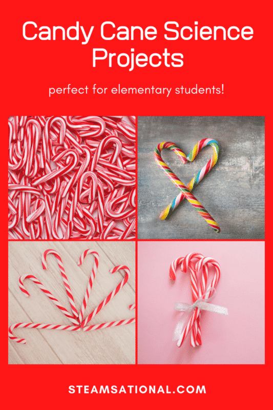 candy cane science projects