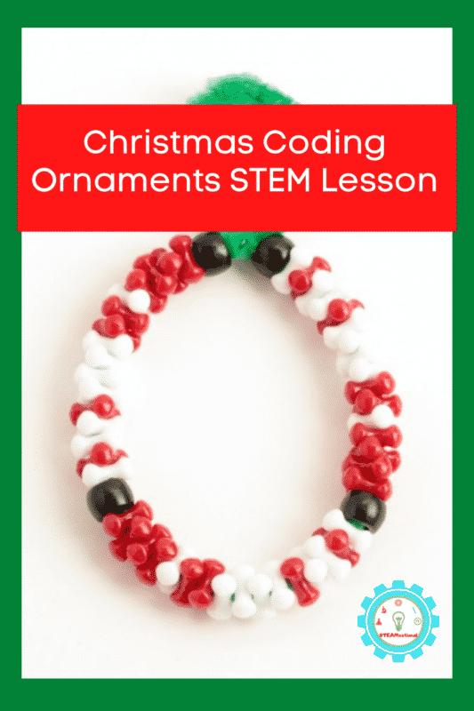 christmas coding ornaments