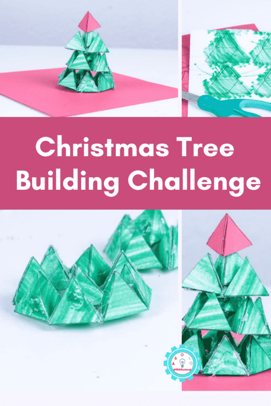 christmas tree building challenge