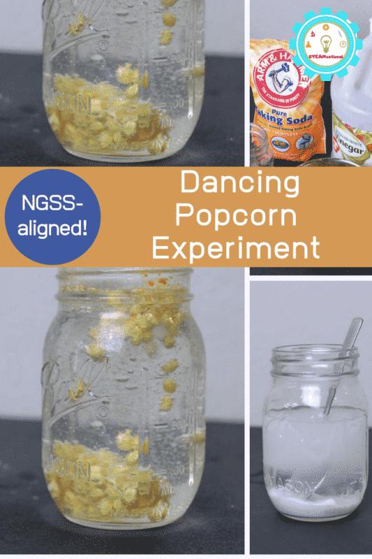 dancing popcorn experiment
