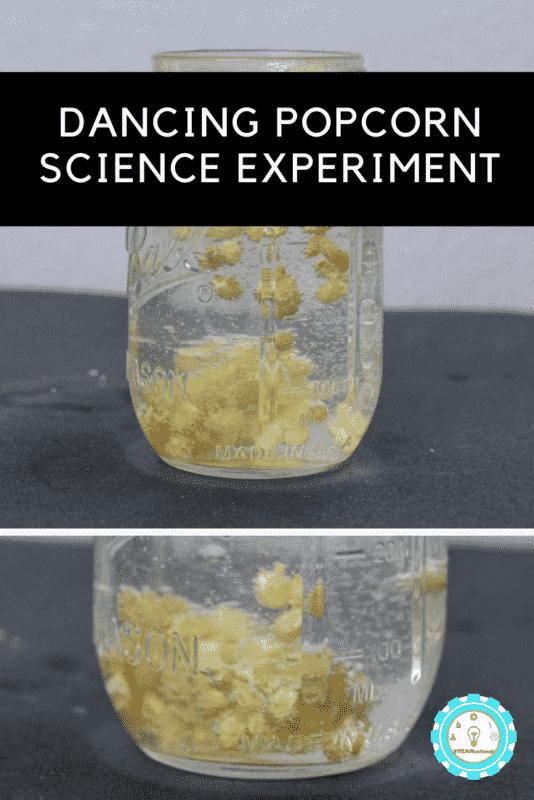 dancing popcorn science experiment