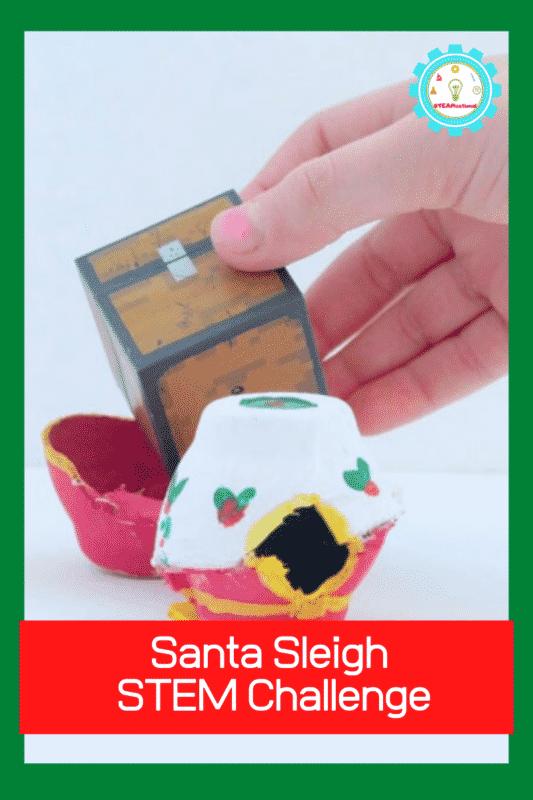 santa sleigh stem challenge