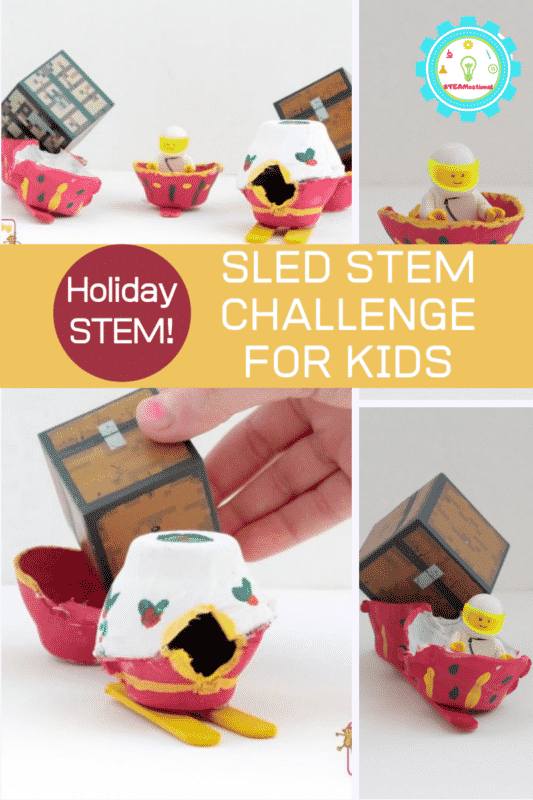 sled stem challenge for kids
