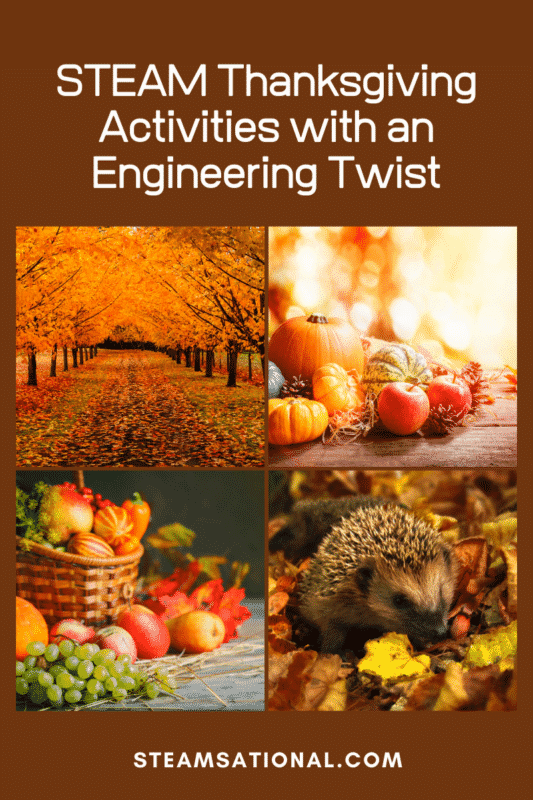 These thanksgiving engineering activities will boost your kids' engineering skills and make engineering activities for kids a blast!